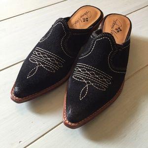 Patricia Nash Battista Leather Mules